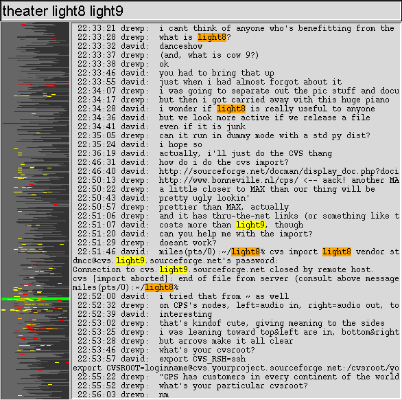 using skim to locate a particular discussion in one of my own IM chat logs